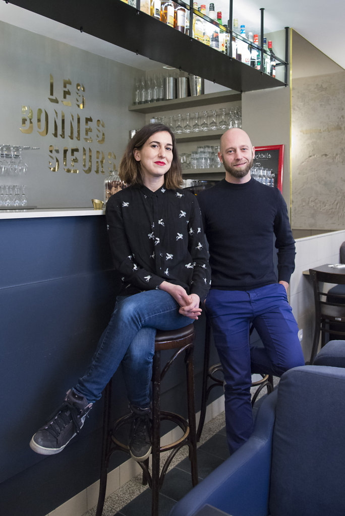 Bérengère Di Cicco et Olivier Wagnies